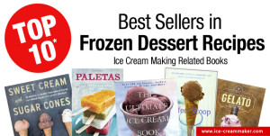 Top 10 Best Sellers in Frozen Dessert Recipes on Amazon – March 2015 Edition