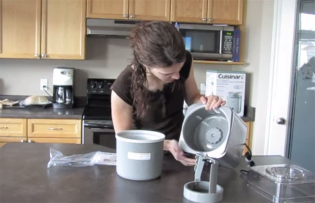 Cuisinart Pure Indulgence Ice 30 Ice Cream Maker Video Review by twobabyboyz