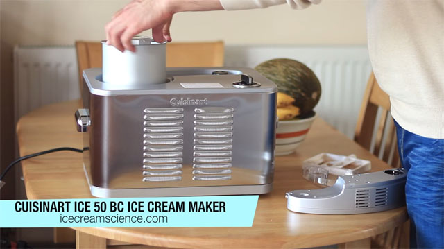 Cuisinart ICE 50 BC Professional Ice Cream Maker Video Review by Ruben Porto