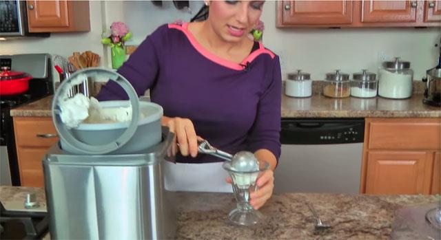 Coconut Ice Cream Recipe by Laura Vitale