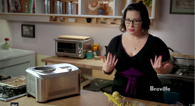 """Make It Vegan"" Pumpkin Ice Cream Recipe by Isa Chandra Moskowitz via Breville"