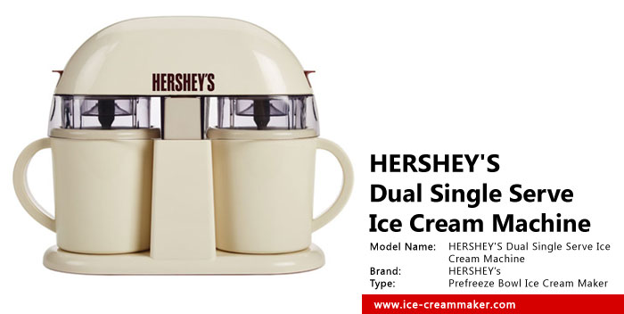 HERSHEY'S Dual Single Serve Ice Cream Machine Review