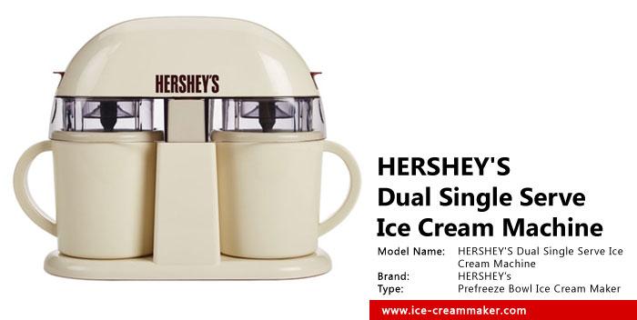 HERSHEY'S Dual Single Serve Ice Cream Machine Review