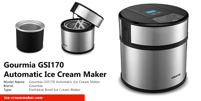 Gourmia GSI170 Automatic Ice Cream Maker Review