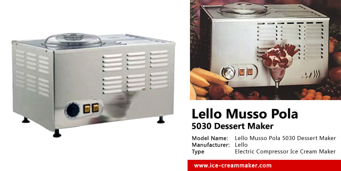 Lello Musso Pola 5030 Dessert Maker Review