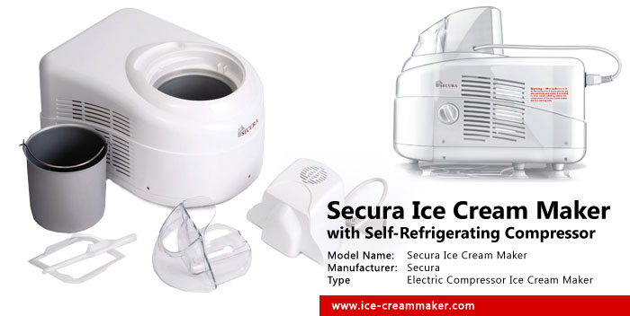 Secura Ice Cream Maker with Self-Refrigerating Compressor Review