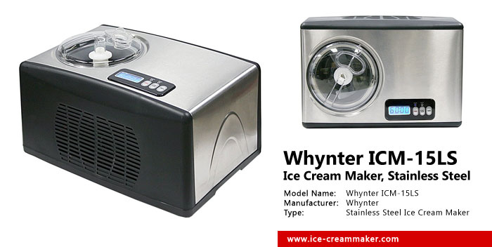 Whynter ICM-15LS Ice Cream Maker Review