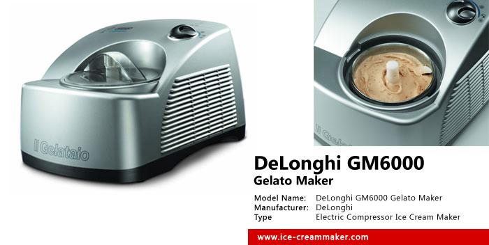 DeLonghi GM6000 Gelato Maker Review