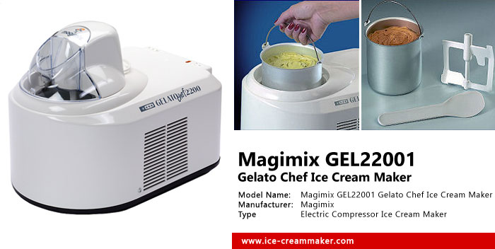 Magimix GEL22001 Gelato Chef Ice Cream Maker Review