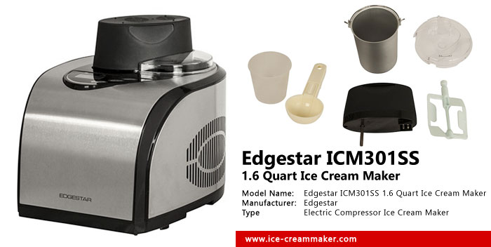 Edgestar ICM301SS 1.6 Quart Ice Cream Maker Review