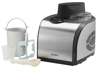 VonShef 1.6 Quart Ice Cream Maker With Built-in Compressor Review