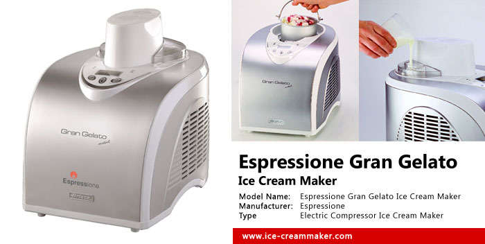 Espressione Gran Gelato Ice Cream Maker Review