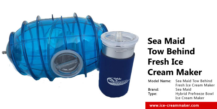 Sea Maid Tow Behind Fresh Ice Cream Maker