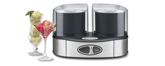 Cuisinart ICE-40BK Flavor Duo Ice Cream Maker Review