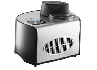 Gourmia GSI-200 Stainless Steel 1.6 quart SleekServe Automatic Ice Cream Maker Review