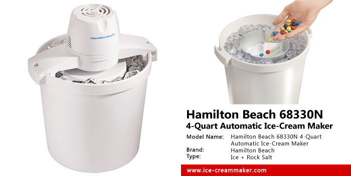 Hamilton Beach 68330N 4-Quart Automatic Ice-Cream Maker Review