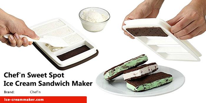 Cool Finds: Chef'n Sweet Spot Ice Cream Sandwich Maker