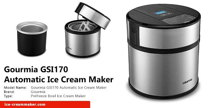 Gourmia GSI170 Automatic Ice Cream Maker Review