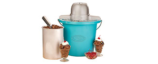 Nostalgia ICMP400BLUE 4-Quart Electric Ice Cream Maker Review